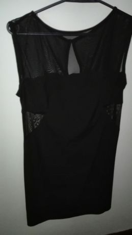 Sukienka mała czarna r.38