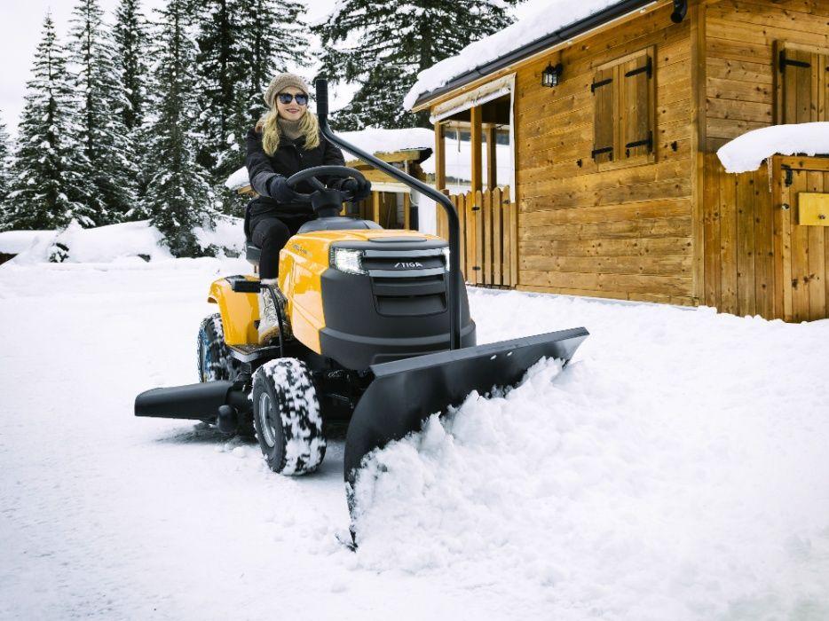 Pług śnieżny 107 cm do Stiga Estate i Tornado, Castelgarden Radomsko - image 1