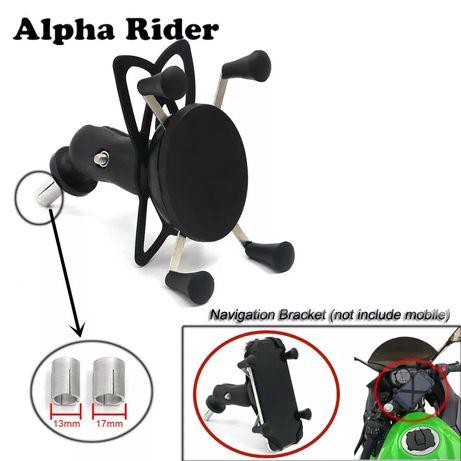 Uchwyt na telefon z ładowarką USB X-grip do motocykla sportowego