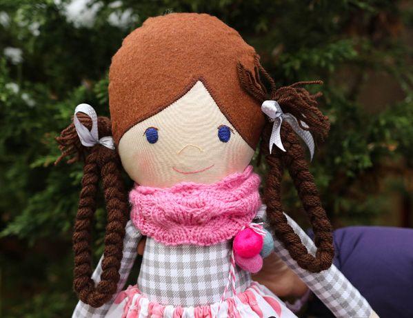 lalka szmaciana lalka eco handmade