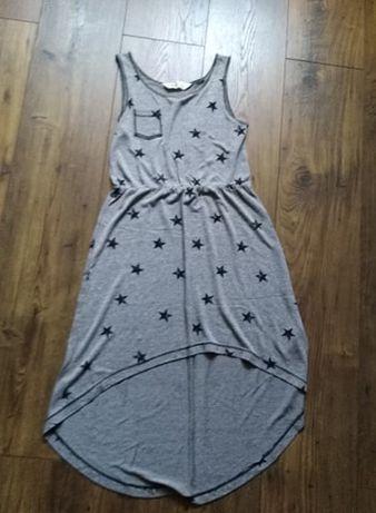 Sukienka na grubych ramiączkach