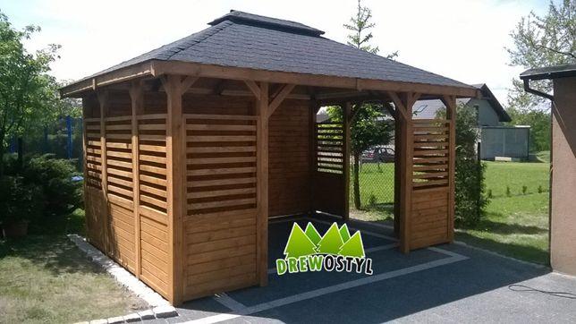 Altana ogrodowa altanki altany ogród domek wiata drewutnia ogród 3x3