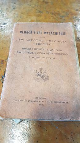Zakon Franciszka serafickiego krk 1917 reguły zasady kolekcja zbiór
