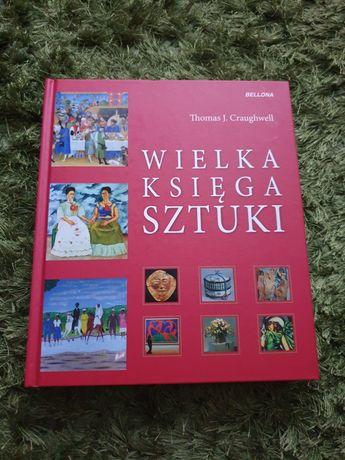 Wielka księga sztuki album historia sztuki stan idealny Craughwell