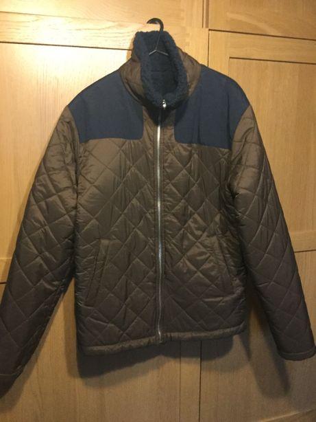 Nowa pikowana kurtka Zara Man S dwustronna