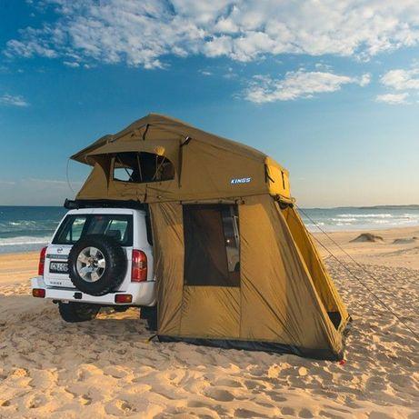 samochodowy namiot dachowy 4x4 z przedsionkiem WAW