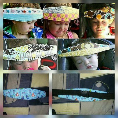 Fita de apoio/segurança cabeça bebé/criança-dormir no carro/cadeirinha