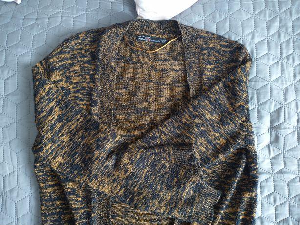 Marmurkowy sweterek FISHBONE