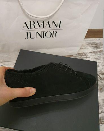 Туфли на меху Armani туфли Armani 41 сапоги Armani ботинки Armani 41