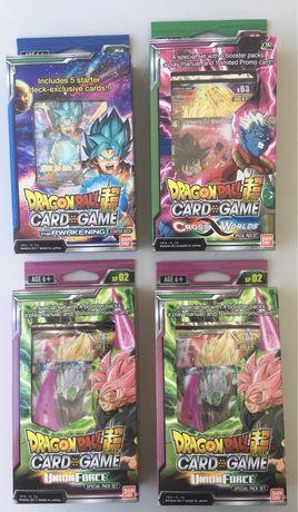 Dragon Ball Super TCG (fechadas/Special Pack/Starter Deck) INGLES
