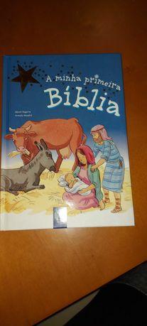 Livro A minha primeira Bíblia + 4 anos