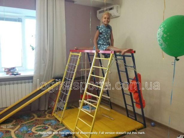 Качели, мат, горка, игровая площадка, детский спортивный комплекс