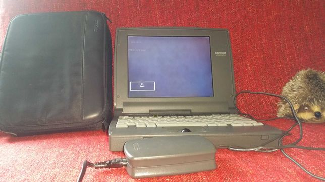 Раритетный ноутбук COMPAQ CONTURA 4200C.