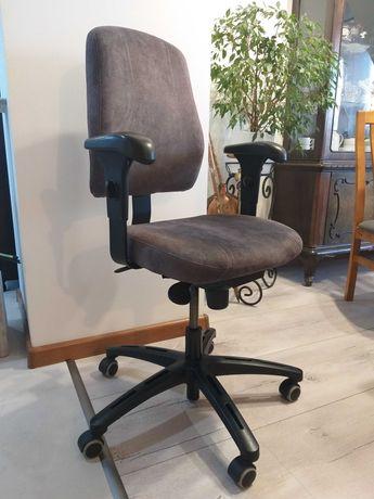 Krzesło biurowe szare IKEA