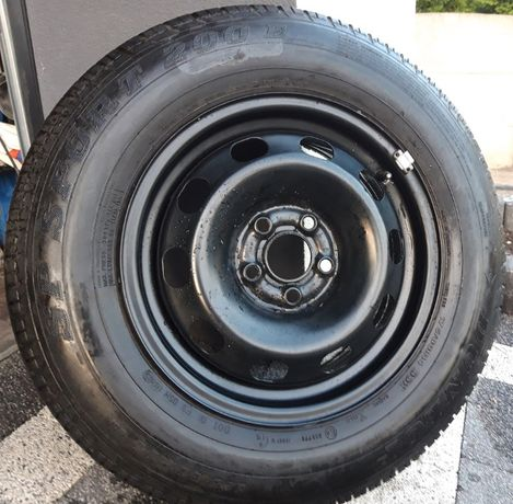 felga 5x100 VW Golf 4 (koło zapasowe)