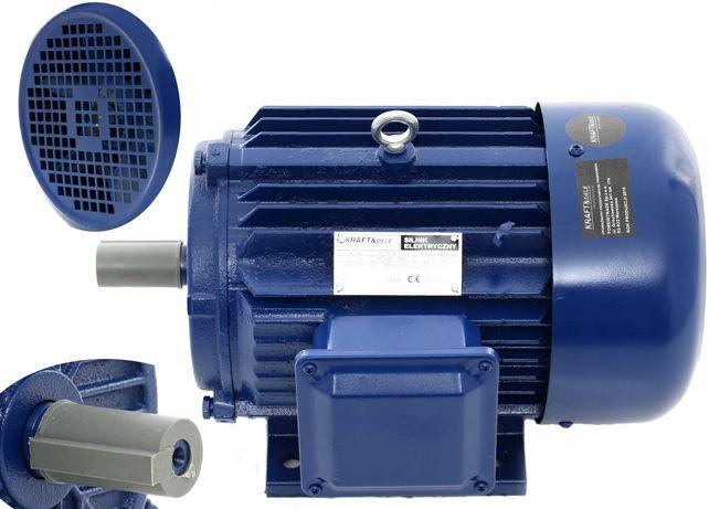 SILNIK elektryczny 1,5 kW 380V 1400 / 2840 rpm 400