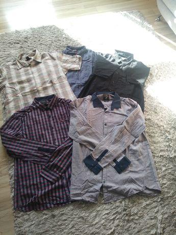 Sprzedam używane firmowe koszule RESERVED, DIESEL oraz NEW LOOK
