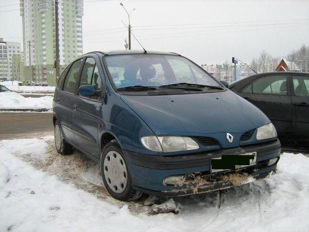 Renaul Scenic 1996-1999 1.6b 66kW Разборка Шрот Рено Сценик фара капот