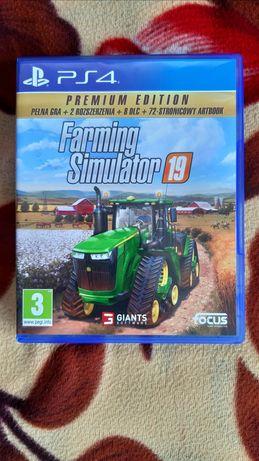 Farming Simulator 19 Wersja Pl Premium Edition jak nowa