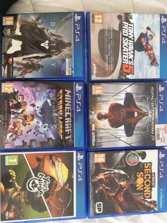 Vendo jogos PS4