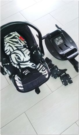 Kiddy Evolution Pro 2 Zebra