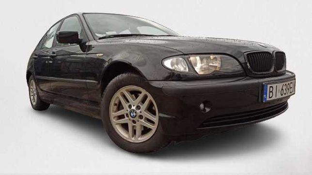 BMW E46 1.8 benz. 115 KM, 2003 rok, OC i BT, alufelgi