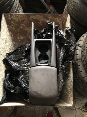 Tunel podłokietnik mazda 3 brązowa skóra aux USB