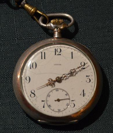 Zegarek kieszonkowy - STARA OMEGA Grand Prix Paris 1900