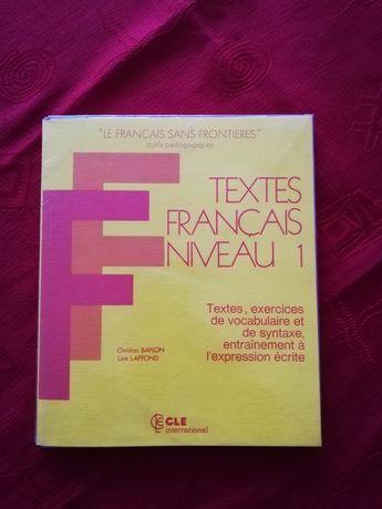 Textes francais niveau 1