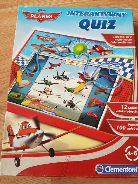 Gra - INTERAKTYWNY quiz - Samoloty