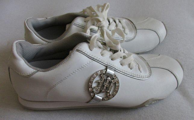 NOWE buty skórzane damskie 38,5 trampki sportowe skóra
