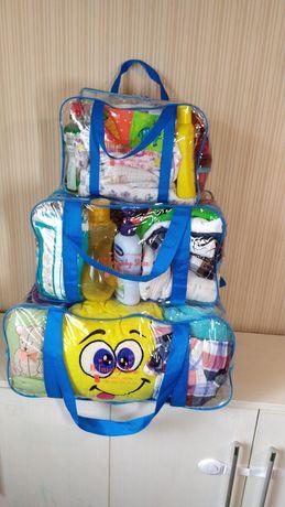 Новые сумки в роддом пологовий