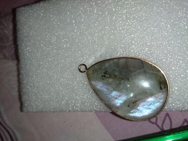 Лунный Лабродор камень натуральный