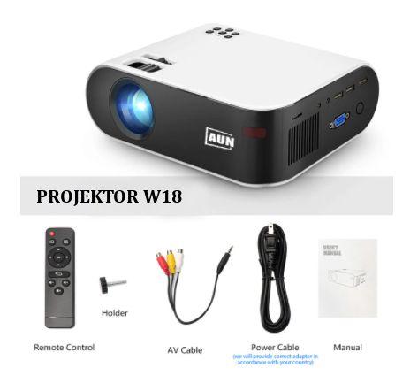 Nowy oryginalnie zapakowany Projektor rzutnik FULL HD 1080P