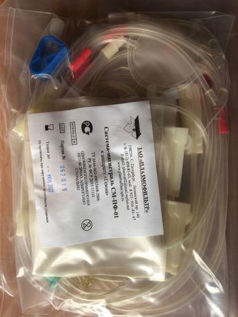 Магистраль для аппаратного плазмафереза для фильтра ПФМ-500,