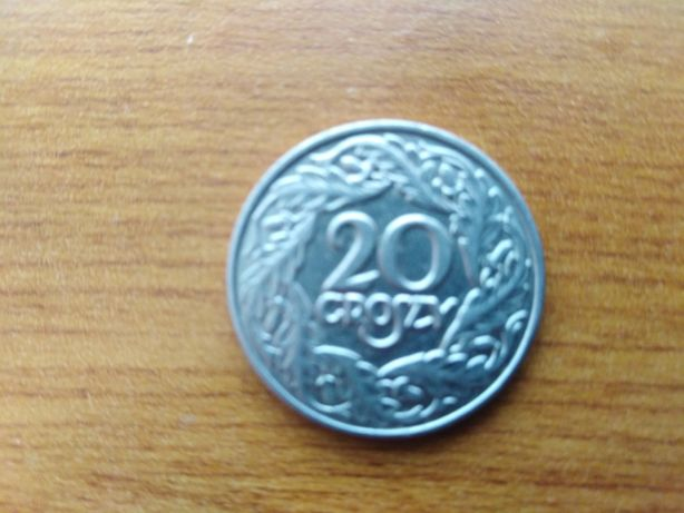 Moneta kolekcjonerska 20gr z 1923r