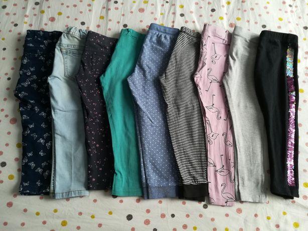 Spodnie 104, legginsy 104, jeansy 104