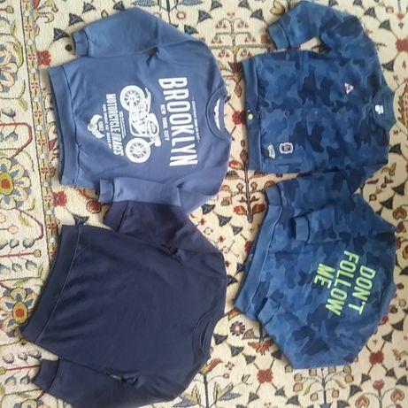 4 x bluza,bluzy r.128,134-140 Cool Club Smyk,bliźniaki,bliźnięta