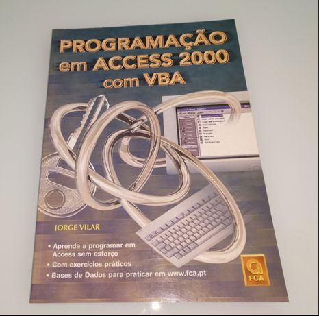 """Livro """"Programação em Access 2000 com VBA"""", de Jorge Vilar (FCA/Lidel)"""