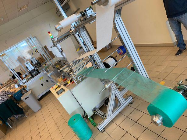 Maszyna do produkcji masek medycznych 3/warstwowe 100szt/min