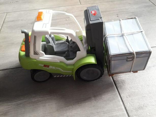 Paleciak wózek na baterie widłowy paleta dźwig światła dźwięki