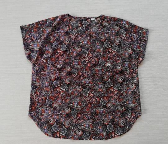 Kolorowa bluzka we wzorki r.48