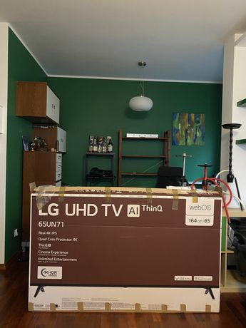"""TV LG 4K UHD 65"""" półroczny"""