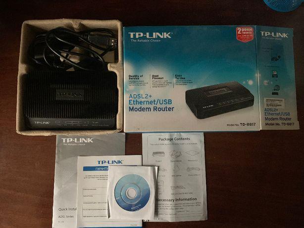 TP-LINK ADSL2+Ethernet/USB Modem Router