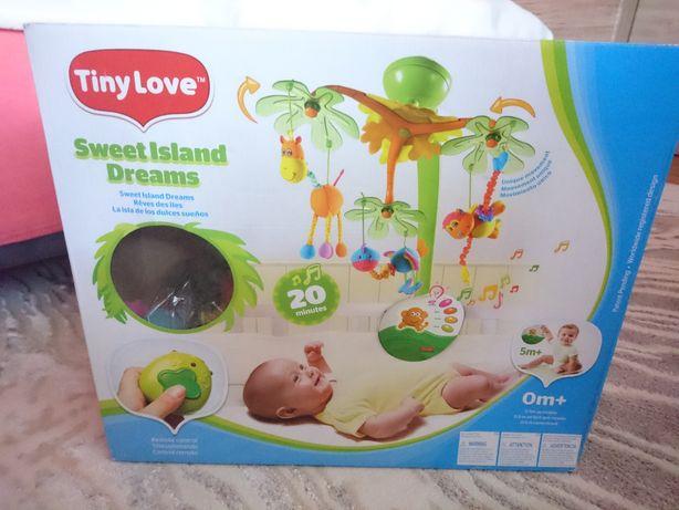 Karuzela TinyLove Sweet Island do łóżeczka dziecięcego