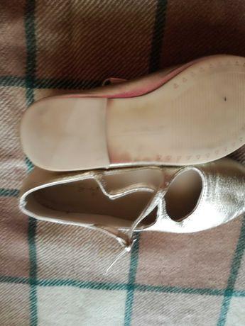 Sandalki polbuty zlote dka dziewczynki r 27