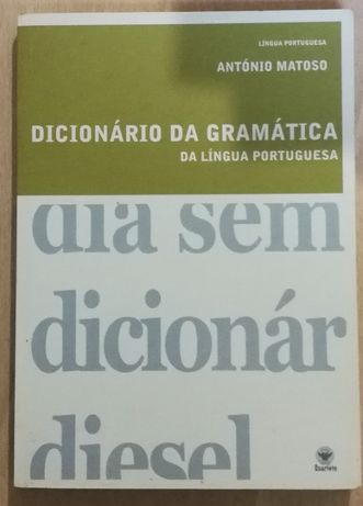 dicionário da gramática da língua portuguesa, antónio matoso