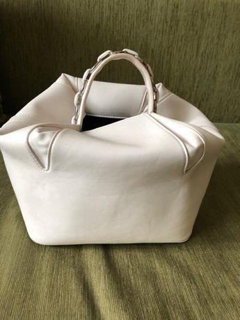 сумка женская белая ZARA