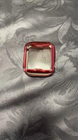 Capa apple watch vermelha 42/44, nova e impecavel