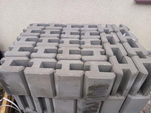 Łącznik betonowy do podmurówki wys.25 cm, podmurówka, montaż